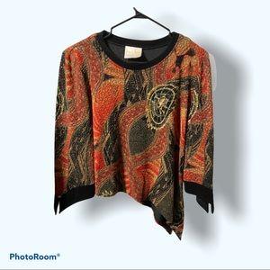 Joseph Ribkoff Cropped Sweater